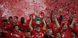 liverpool ucl champions milan kaka gerrard trophy