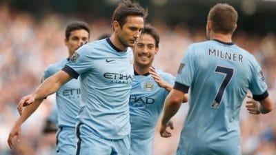 Lampard no Manchester City e o dia mais estranho de sua carreira