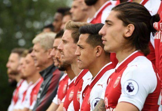 Arsenal Bellerín Alexis Sanchez