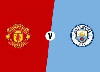 Manchester United City derby clássico escudos