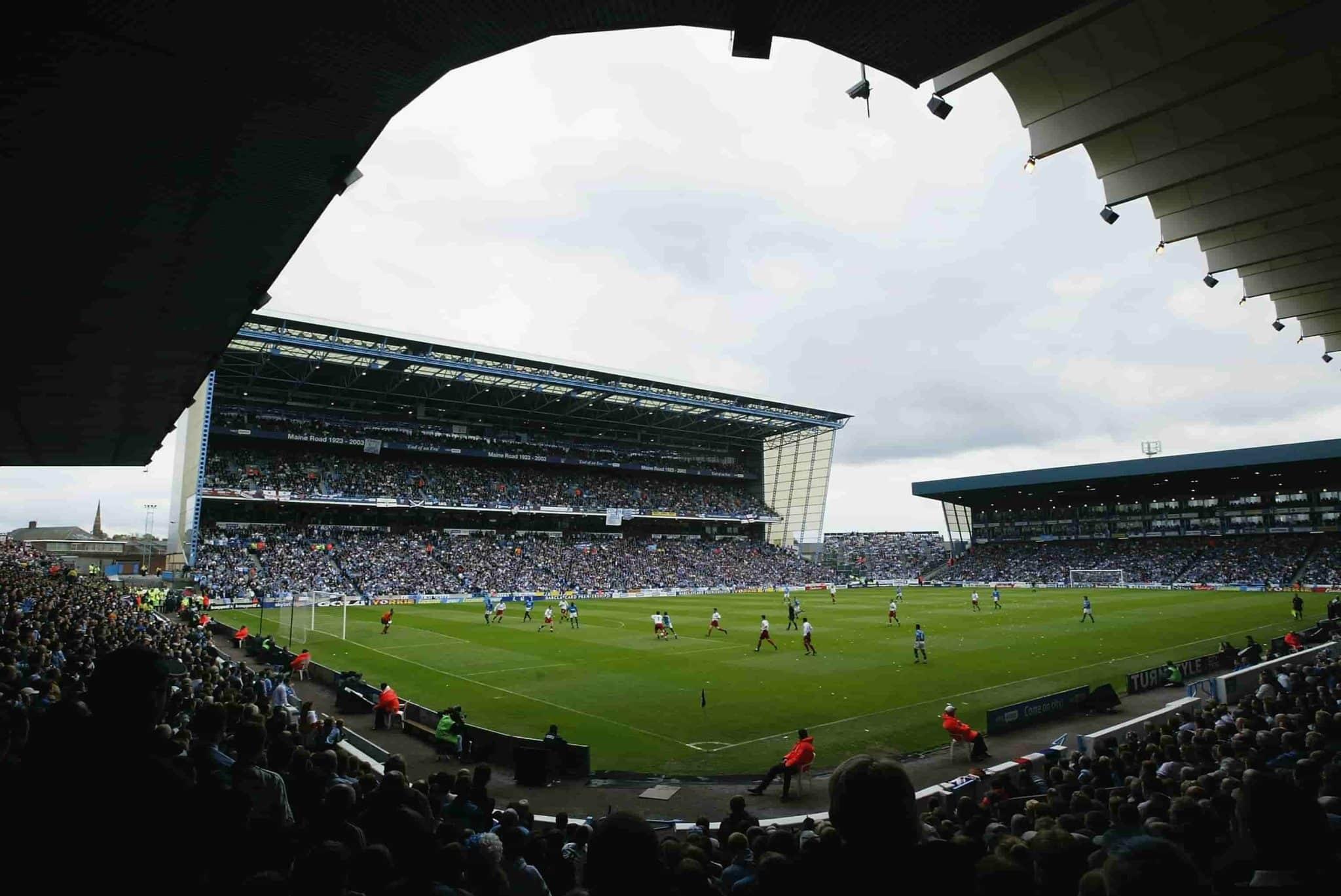 Maine Road Relembre A Trajetoria Da Antiga Casa Do Manchester City