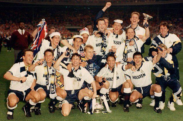 1991: quando o Tottenham conquistou uma inesquecível Copa da Inglaterra