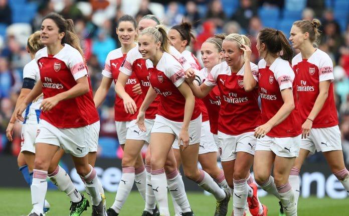 Confira a tabela da Superliga feminina inglesa arsenal women