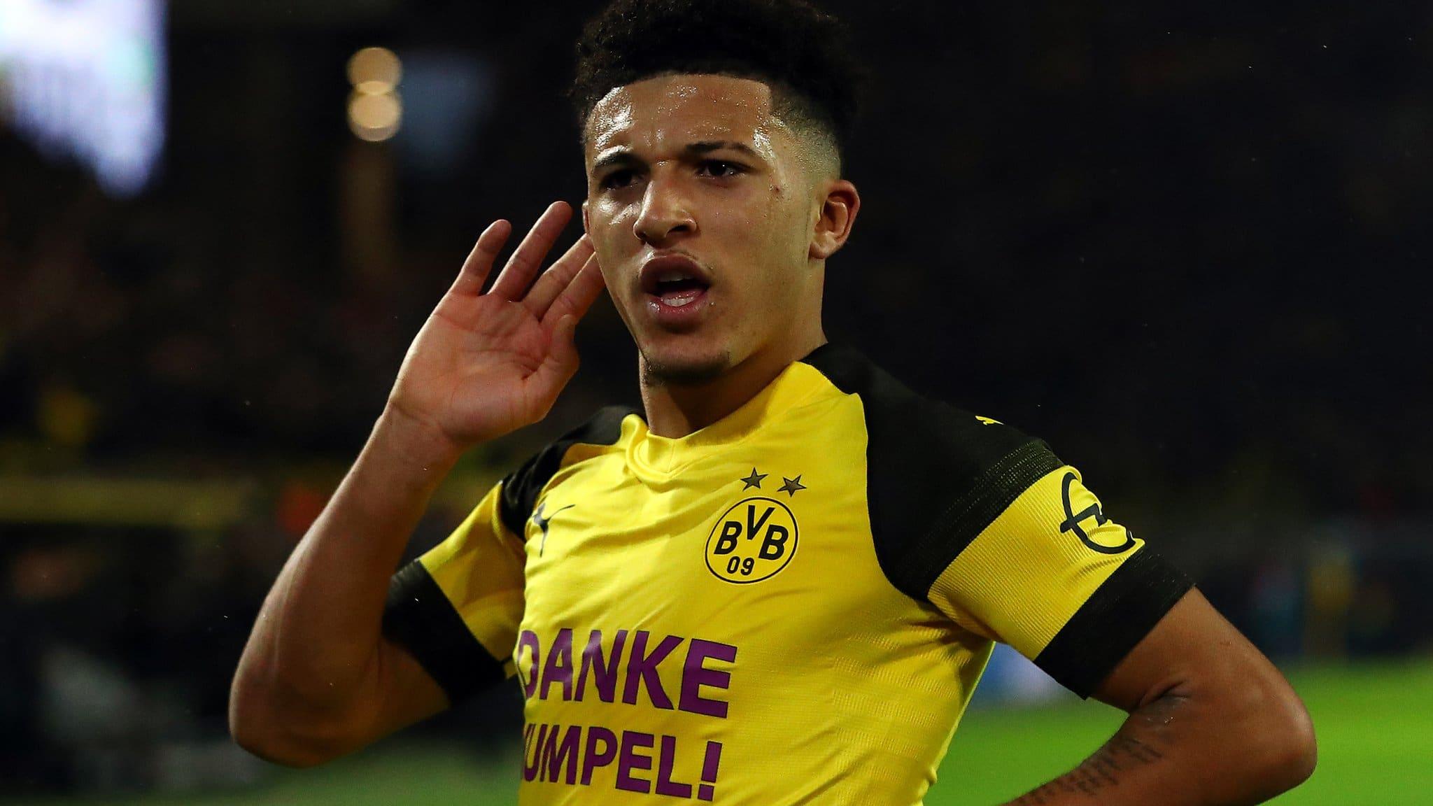 Jadon Sancho - Borussia Dortmund - Manchester City