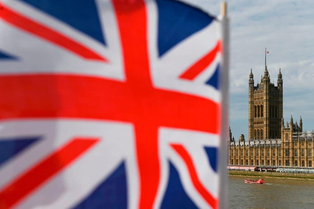 bandeira grã-bretanha Inglaterra x Argentina DANIEL LEAL-OLIVAS Collection AFP