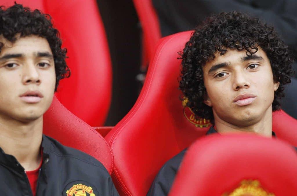 Rafael e Fábio Manchester United brasileiros mais jovens Paul Ellis Collection AFP-min