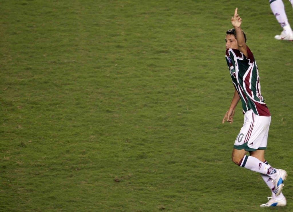 Thiago Neves Fluminense Libertadores Antonio Scorza Collection AFP-min
