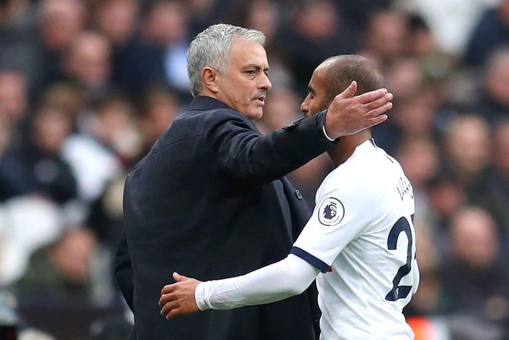 Tottenham Mourinho Lucas Moura Catherine Ivill Getty Images