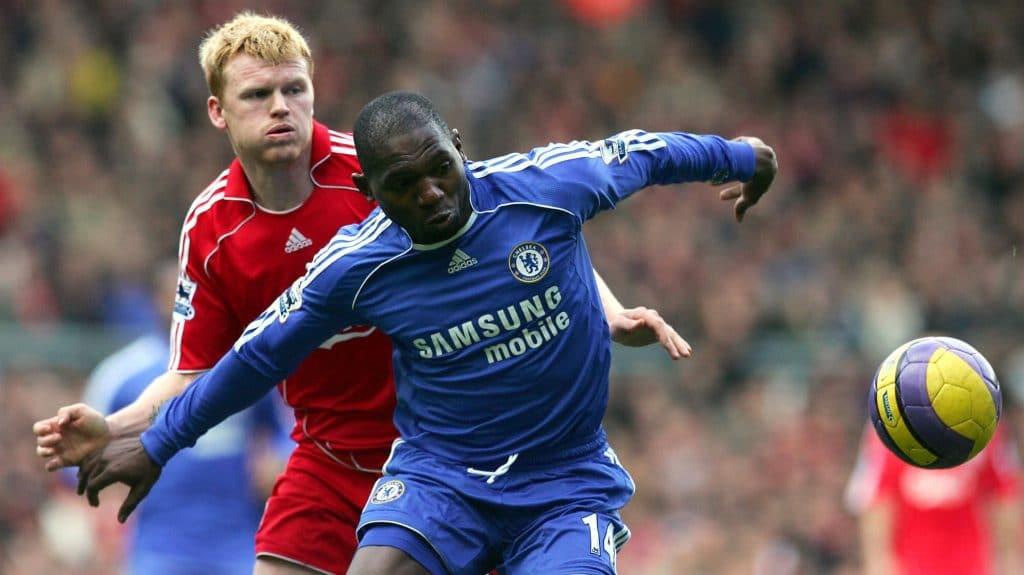 Chelsea Geremi Riise Liverpool Paul Ellis Collection AFP