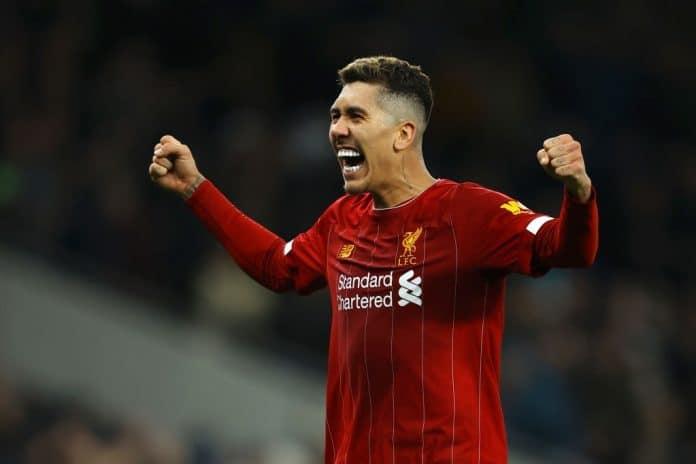 Roberto Firmino Bobby Sí Señor Liverpool Richard Heathcote Getty Images Sport