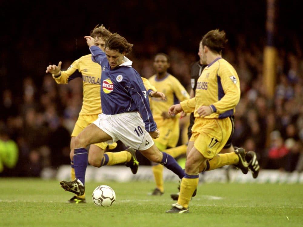 Roberto Mancini Leicester Premier League