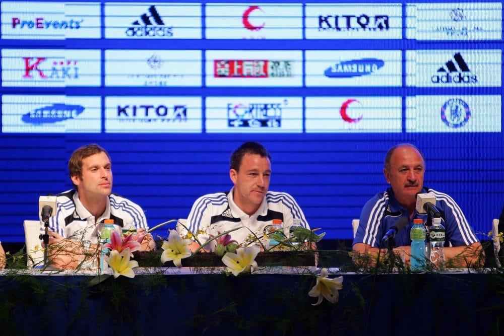 Cech, Terry e Felipão