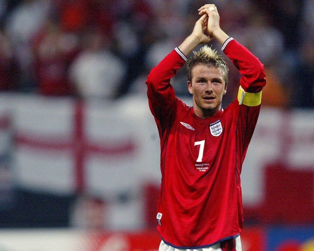 Inglaterra x Argentina 2002 Copa Beckham