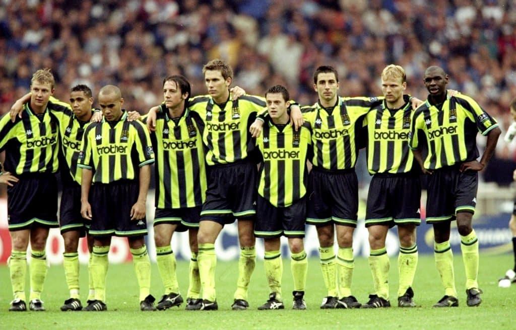 Manchester City 3ª divisão 1999 Alex Livesey Allsport