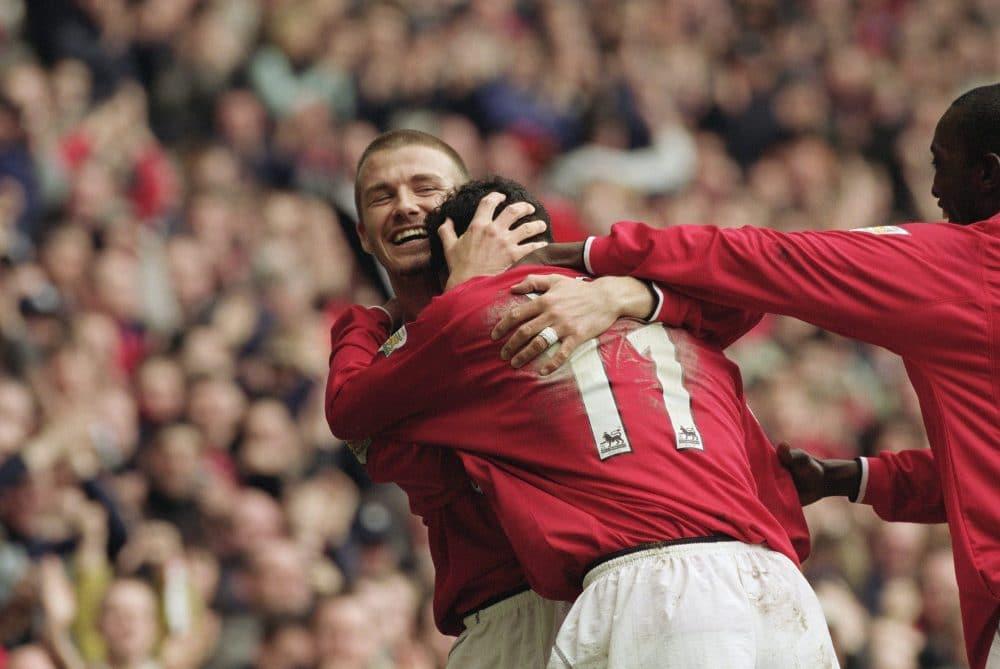 Beckham Giggs Manchester United
