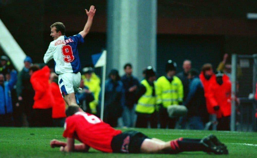 Alan Shearer Blackburn