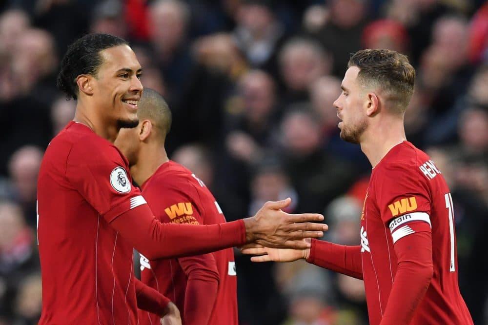 Henderson van Dijk Liverpool