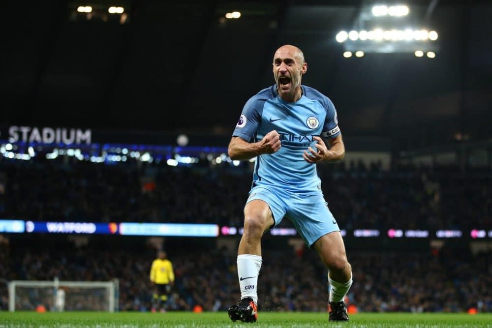 Zabaleta Manchester City Premier League