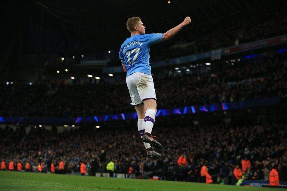 De Bruyne Manchester City 2019/2020