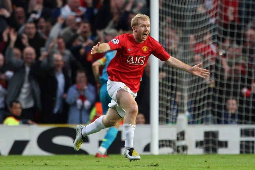 Scholes Manchester United