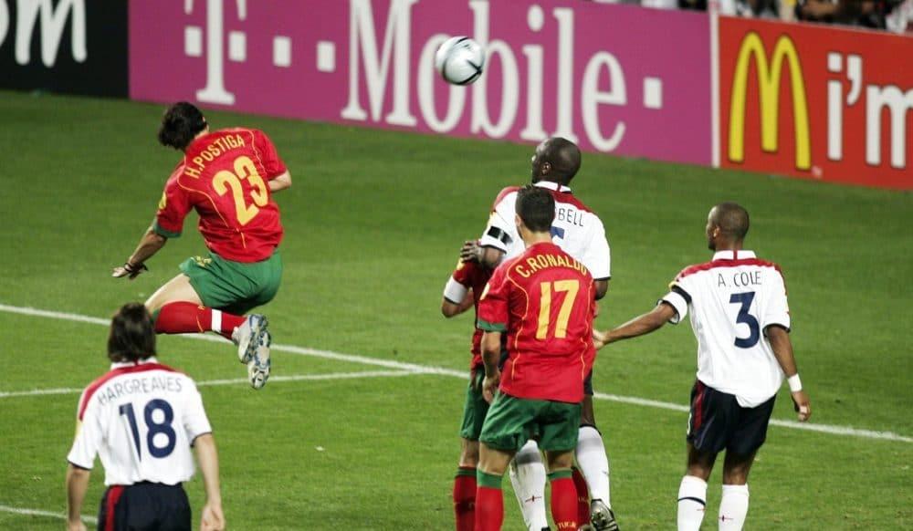 Postiga Portugal Inglaterra