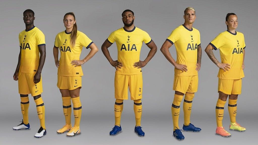 Tottenham 2020 2021 Uniforme Amarelo Pl Brasil
