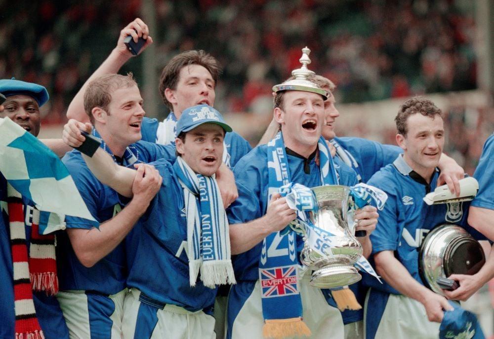 título Everton Copa da Inglaterra 1994/1995