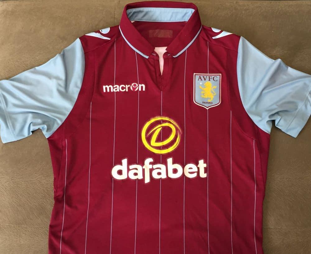 camisa Aston Villa