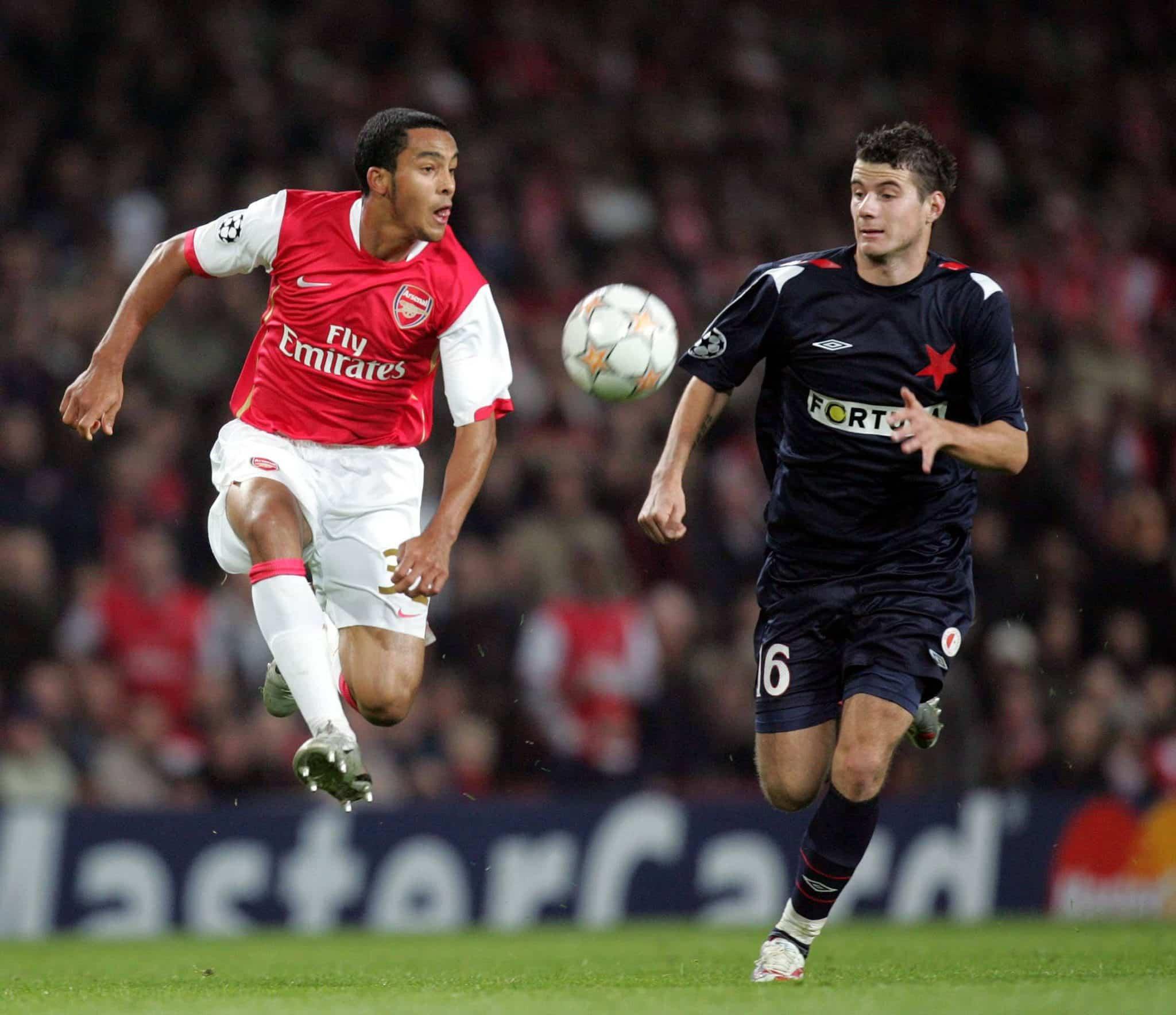 Relembrando o 7 a 0 do Arsenal no Slavia Praga pela Champions League em 2007