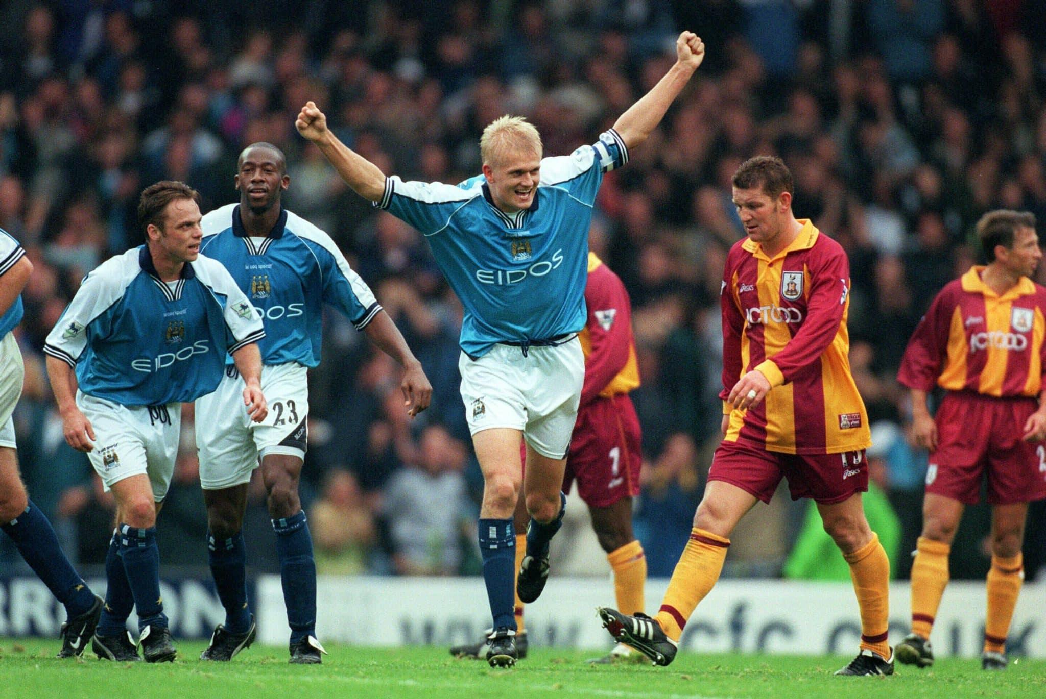 Pai de Haaland encerrou a carreira no Manchester City - e teve rixa histórica com Roy Keane