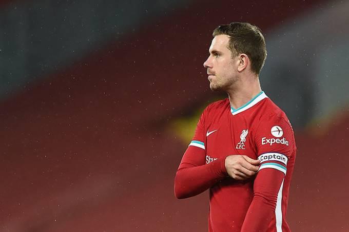 Jordan Henderson, volante do Liverpool