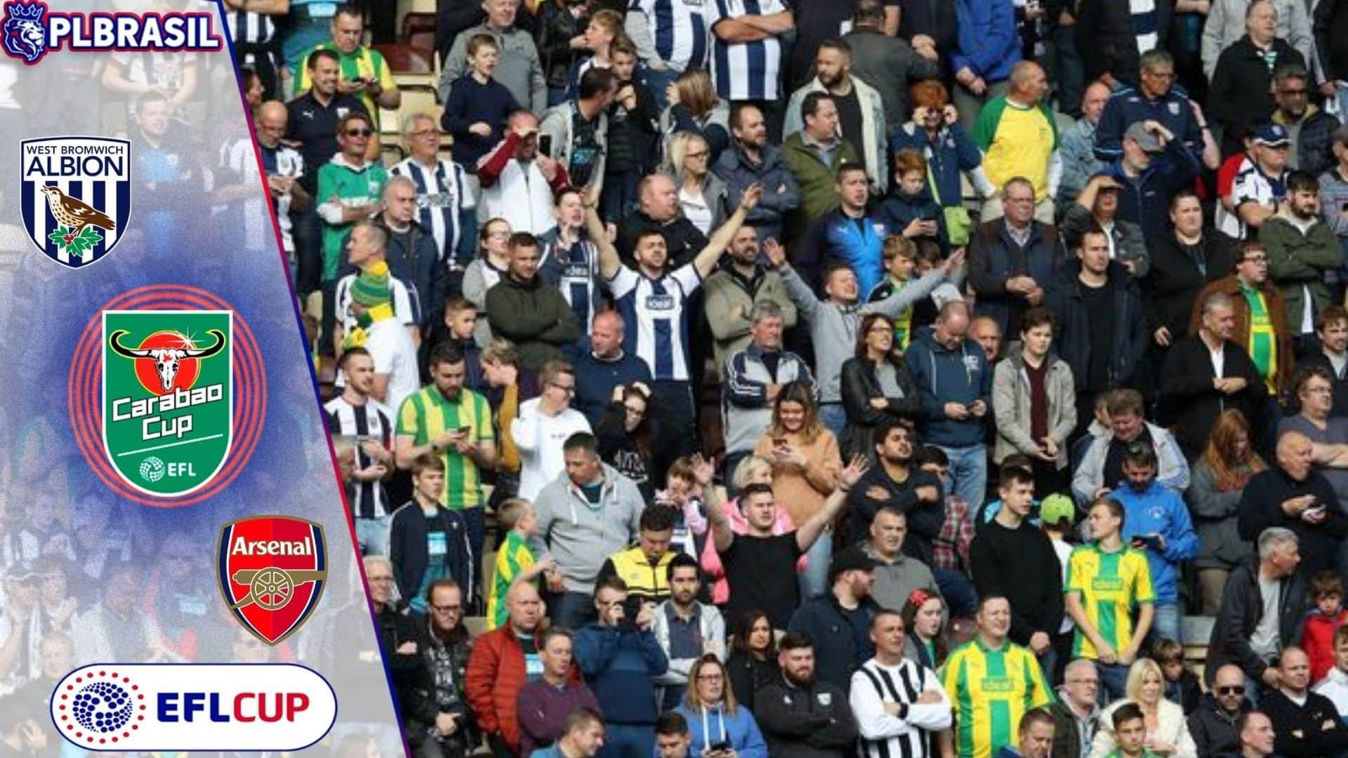 West Bromwich x Arsenal - Palpite & Prognóstico