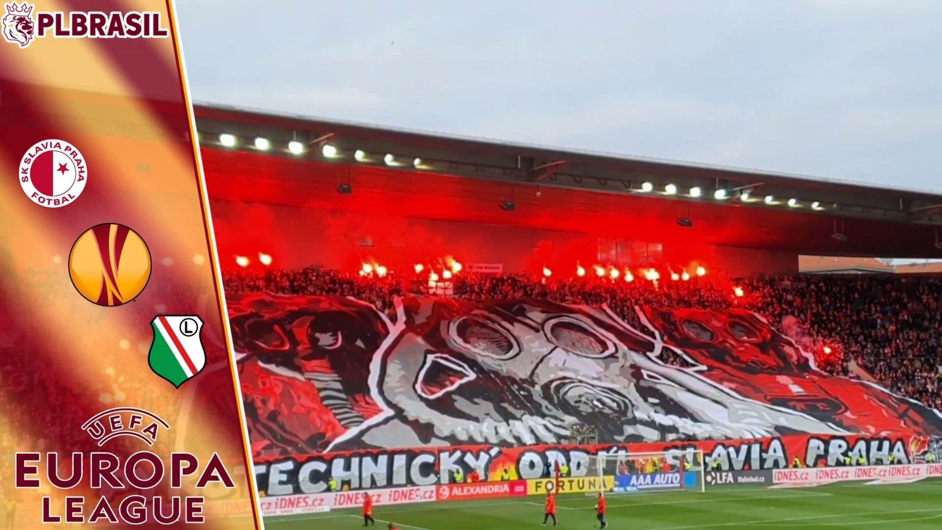 Slavia Praha x Legia Varsóvia