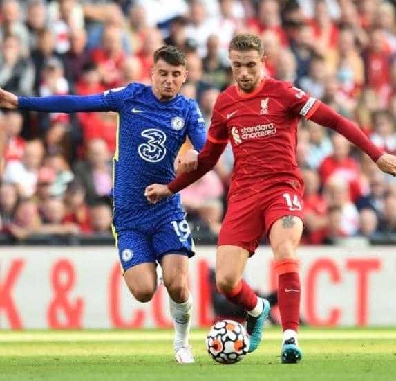 Liverpool x Chelsea - Mount e Henderson