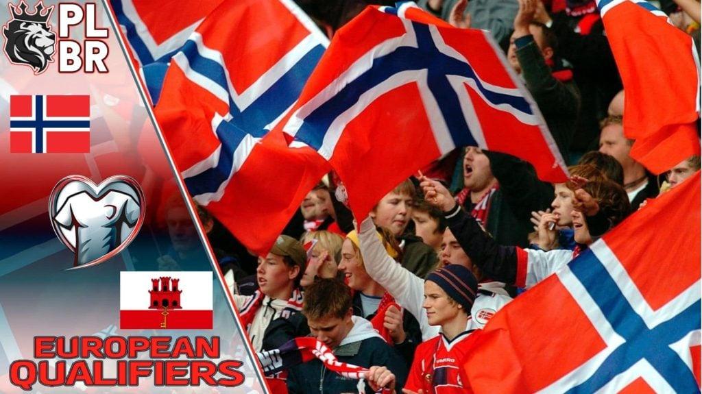 Palpite, Prognóstico e Odds para Noruega x Gibraltar - 07/09