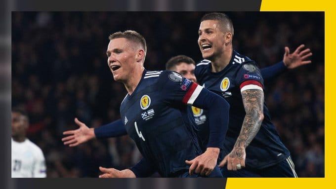 Escócia x Israel